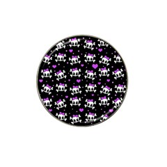 Cute skull Hat Clip Ball Marker (4 pack)