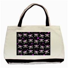 Cute skull Basic Tote Bag