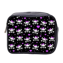 Cute skull Mini Toiletries Bag 2-Side