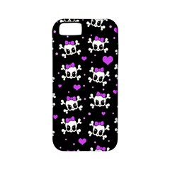 Cute skull Apple iPhone 5 Classic Hardshell Case (PC+Silicone)