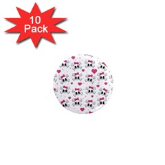Cute skull 1  Mini Magnet (10 pack)