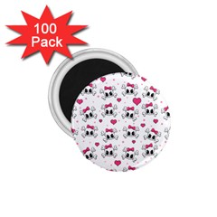 Cute skull 1.75  Magnets (100 pack)