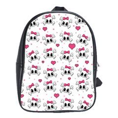 Cute skull School Bags(Large)