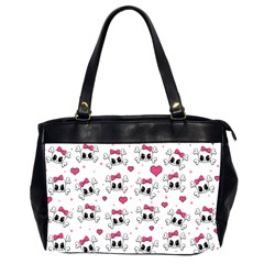 Cute skull Office Handbags (2 Sides)