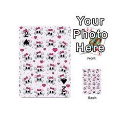 Cute skull Playing Cards 54 (Mini)