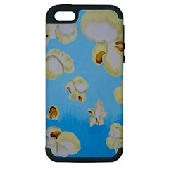 Air Popped Apple Iphone 5 Hardshell Case (pc+silicone)