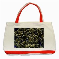 Floral Skies Classic Tote Bag (red)