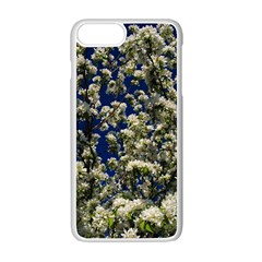 Floral Skies Apple Iphone 7 Plus White Seamless Case