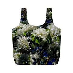 Floral Skies 2 Full Print Recycle Bags (M)