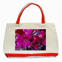 Pretty In Fuchsia Classic Tote Bag (red)