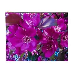 Pretty In Fuchsia Cosmetic Bag (XL)