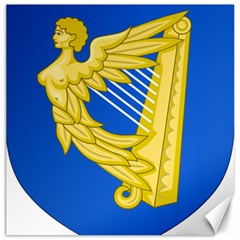 Coat of Arms of Ireland, 17th Century to the Foundation of Irish Free State Canvas 20  x 20