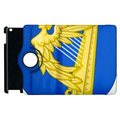 Coat Of Arms Of Ireland, 17th Century To The Foundation Of Irish Free State Apple Ipad 3/4 Flip 360 Case