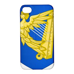 Coat of Arms of Ireland, 17th Century to the Foundation of Irish Free State Apple iPhone 4/4S Hardshell Case with Stand