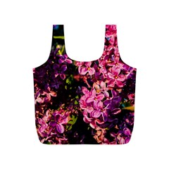 Lilacs Full Print Recycle Bags (S)