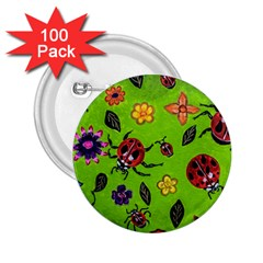 Lucky Ladies 2.25  Buttons (100 pack)