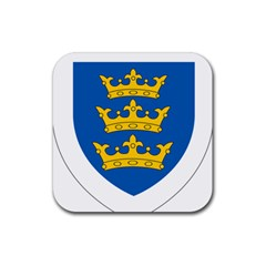 Lordship of Ireland Coat of Arms, 1177-1542 Rubber Square Coaster (4 pack)