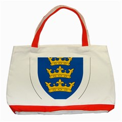 Lordship Of Ireland Coat Of Arms, 1177 1542 Classic Tote Bag (red)
