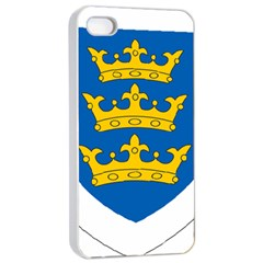 Lordship of Ireland Coat of Arms, 1177-1542 Apple iPhone 4/4s Seamless Case (White)