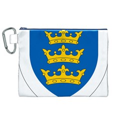 Lordship of Ireland Coat of Arms, 1177-1542 Canvas Cosmetic Bag (XL)