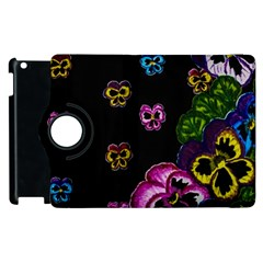 Floral Rhapsody Pt 1 Apple Ipad 2 Flip 360 Case