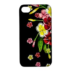 Floral Rhapsody Pt 2 Apple iPhone 4/4S Hardshell Case with Stand