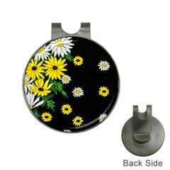 Floral Rhapsody Pt 3 Hat Clips With Golf Markers