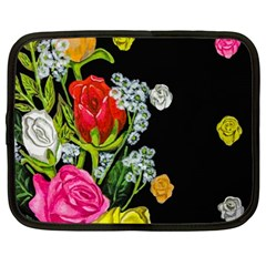 Floral Rhapsody Pt 4 Netbook Case (large)