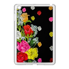 Floral Rhapsody Pt 4 Apple iPad Mini Case (White)