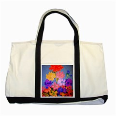 Spring Pastels Two Tone Tote Bag
