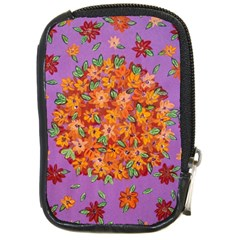 Floral Sphere Compact Camera Cases
