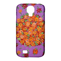 Floral Sphere Samsung Galaxy S4 Classic Hardshell Case (PC+Silicone)