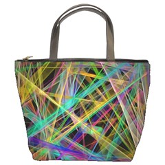 Colorful laser lights        Bucket Bag
