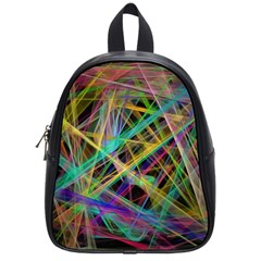 Colorful laser lights             School Bag (Small)