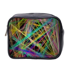 Colorful laser lights             Mini Toiletries Bag (Two Sides)