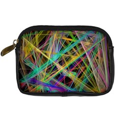 Colorful laser lights        Digital Camera Leather Case