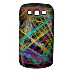 Colorful laser lights       Samsung Galaxy S II i9100 Hardshell Case (PC+Silicone)