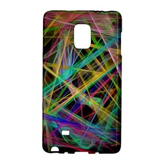 Colorful laser lights       Samsung Galaxy Note 4 Leather Folio