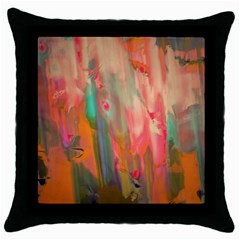 Painting              Throw Pillow Case (Black)