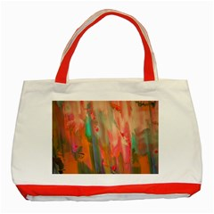Painting              Classic Tote Bag (Red)