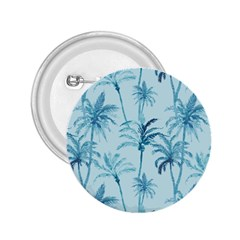 Watercolor Palms Pattern  2.25  Buttons