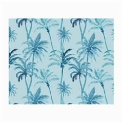Watercolor Palms Pattern  Small Glasses Cloth