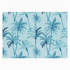 Watercolor Palms Pattern  Large Glasses Cloth (2-Side)