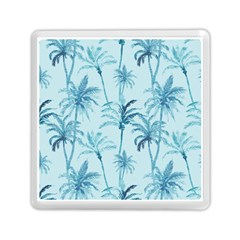 Watercolor Palms Pattern  Memory Card Reader (Square)