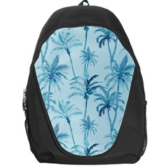 Watercolor Palms Pattern  Backpack Bag