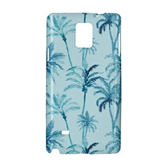 Watercolor Palms Pattern  Samsung Galaxy Note 4 Hardshell Case