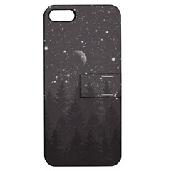 Night Full Star Apple iPhone 5 Hardshell Case with Stand