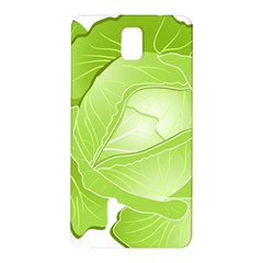 Cabbage Leaf Vegetable Green Samsung Galaxy Note 3 N9005 Hardshell Back Case
