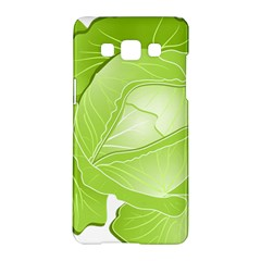 Cabbage Leaf Vegetable Green Samsung Galaxy A5 Hardshell Case