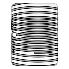 Circular Iron Samsung Galaxy Tab 3 (10.1 ) P5200 Hardshell Case